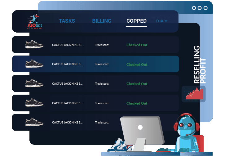 Bot para sneakers Aio