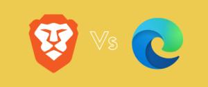 Comparativa Microsoft Edge Vs Brave