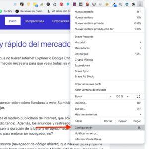 establecer Brave como navegador predeterminado en Windows paso a paso