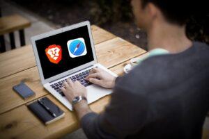 Review sobre navegadores brave y safari