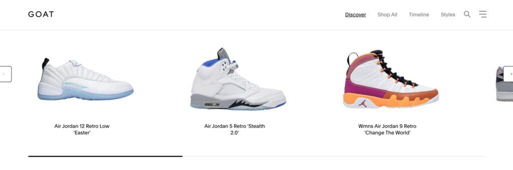 Web para comprar sneakers