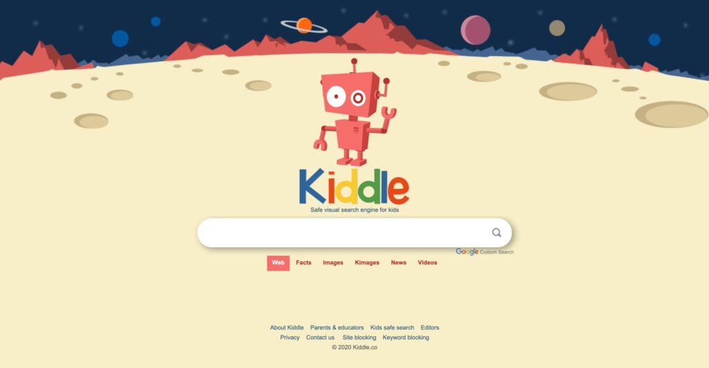 Kiddle buscador infantil
