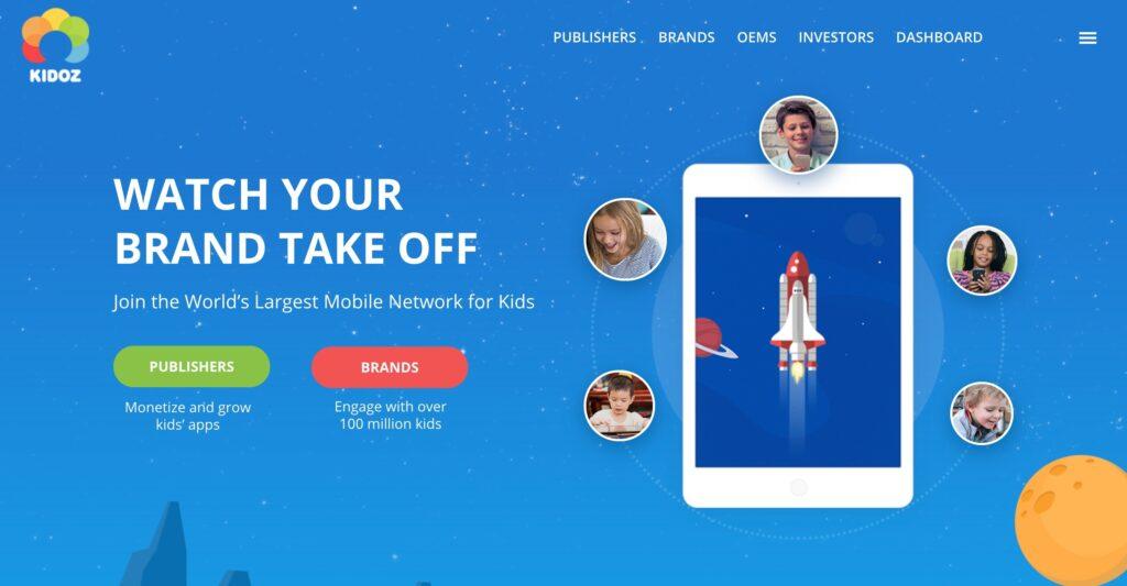 Kidoz app para niños