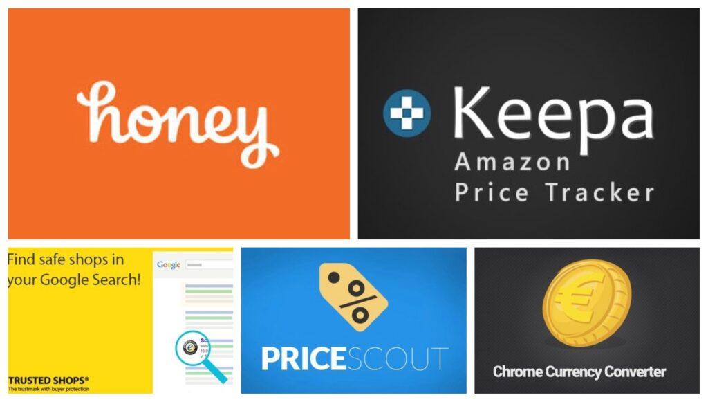 Extensiones navegador para compras online