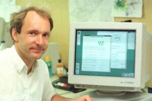 Tim Berners-Lee, creador del navegador