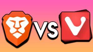 Comparativa brave vs vivaldi