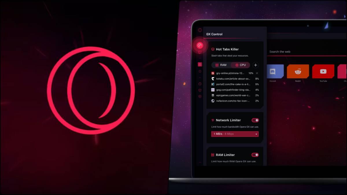 Opera GX, el primer navegador para gamers