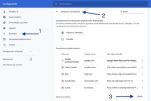 presearch como predeterminado en Google Chrome